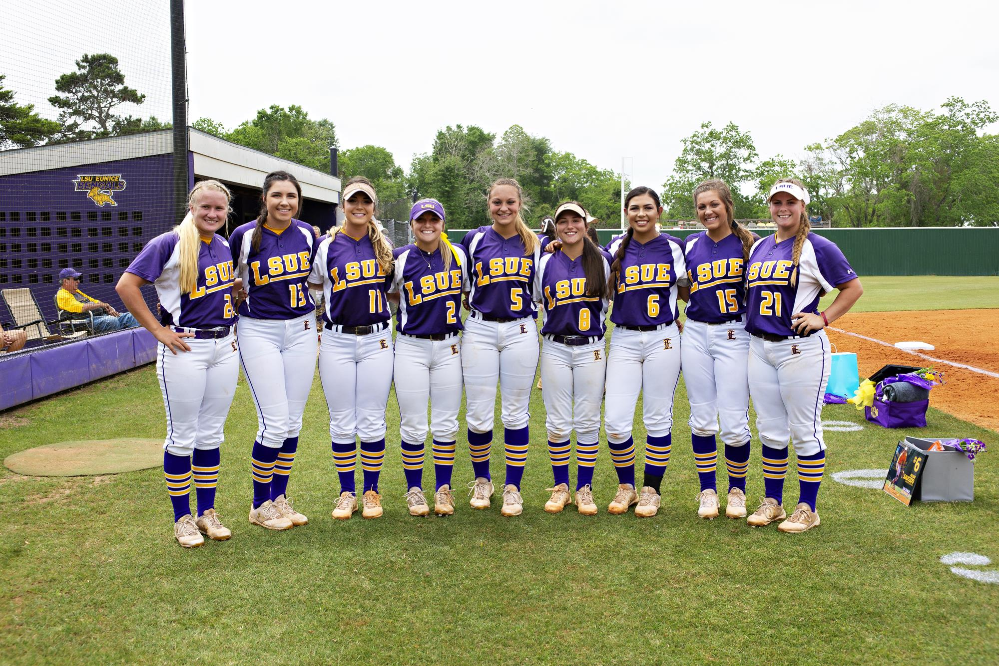 sophomores get sendoff sweep vs. brcc - louisiana state university